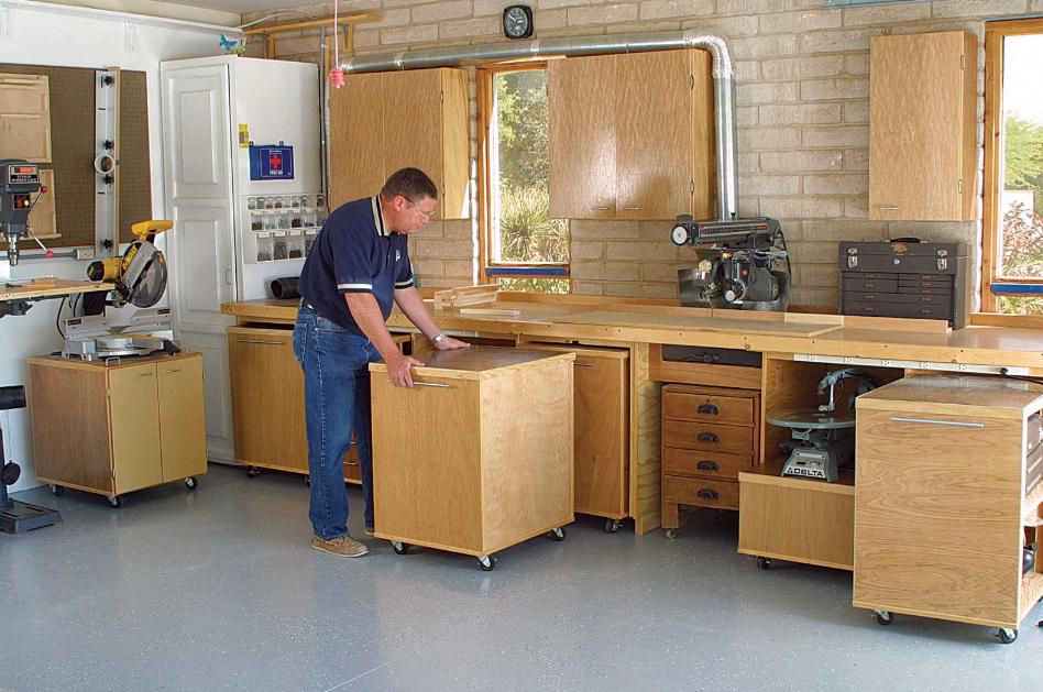 Voici Comment Aménager Un Garage En Atelier De Bricolage